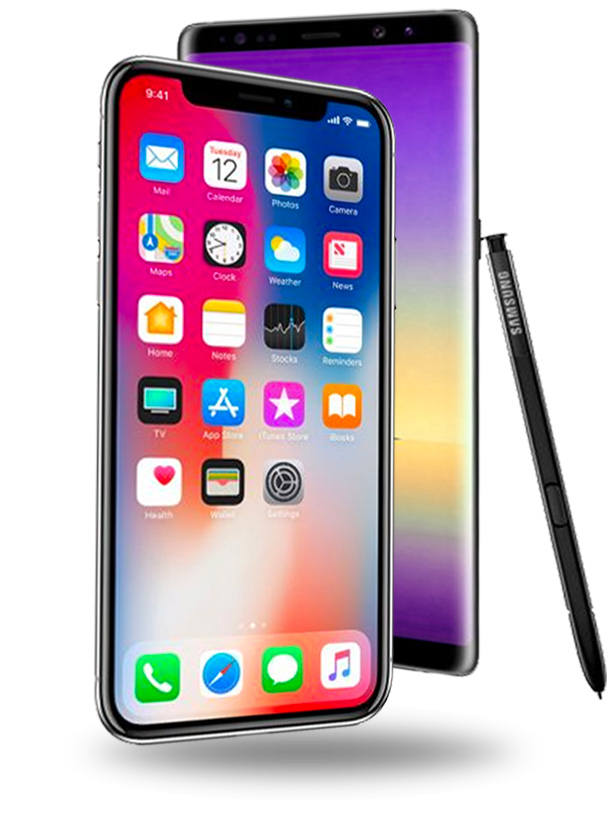 mockup smartphone